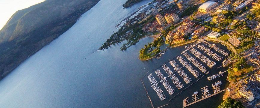 Kelowna and Okanagan Lake: Interesting places, tourist attractions