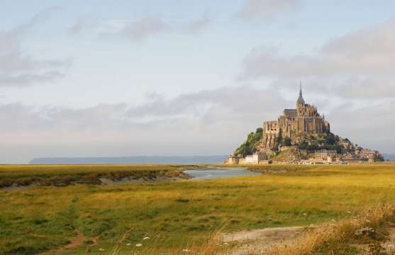 Mont Saint-Michel Island Abbey, Normandy, France :: Travel blog