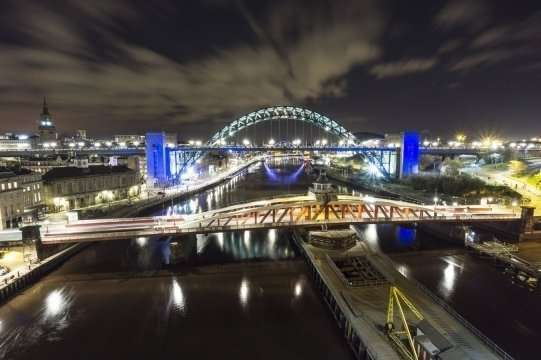 Newcastle, British party city :: Travel blog Fshoq!