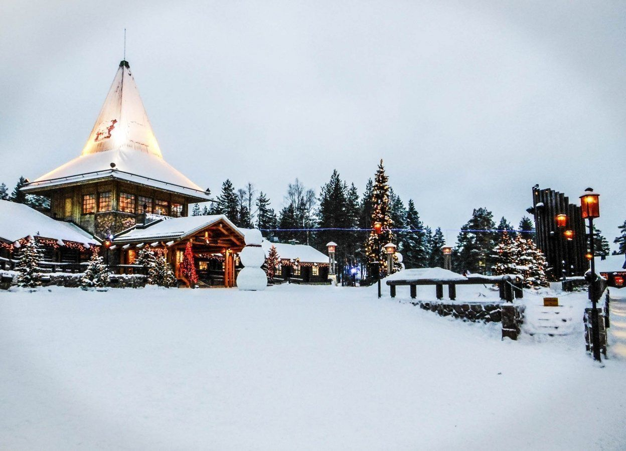 Short visit in the Santa Claus Village in Rovaniemi, Finland