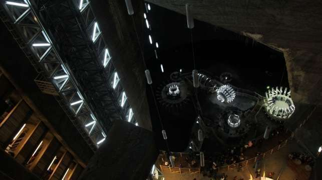 Salina Turda: Theme park inside the salt mine in Romania