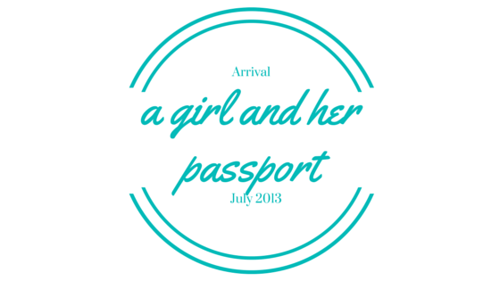 A Girl and Her Passport