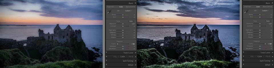 Lightroom clarity - how it works, example