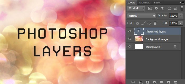 Photoshop: layers