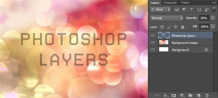 Photoshop basics: opacity