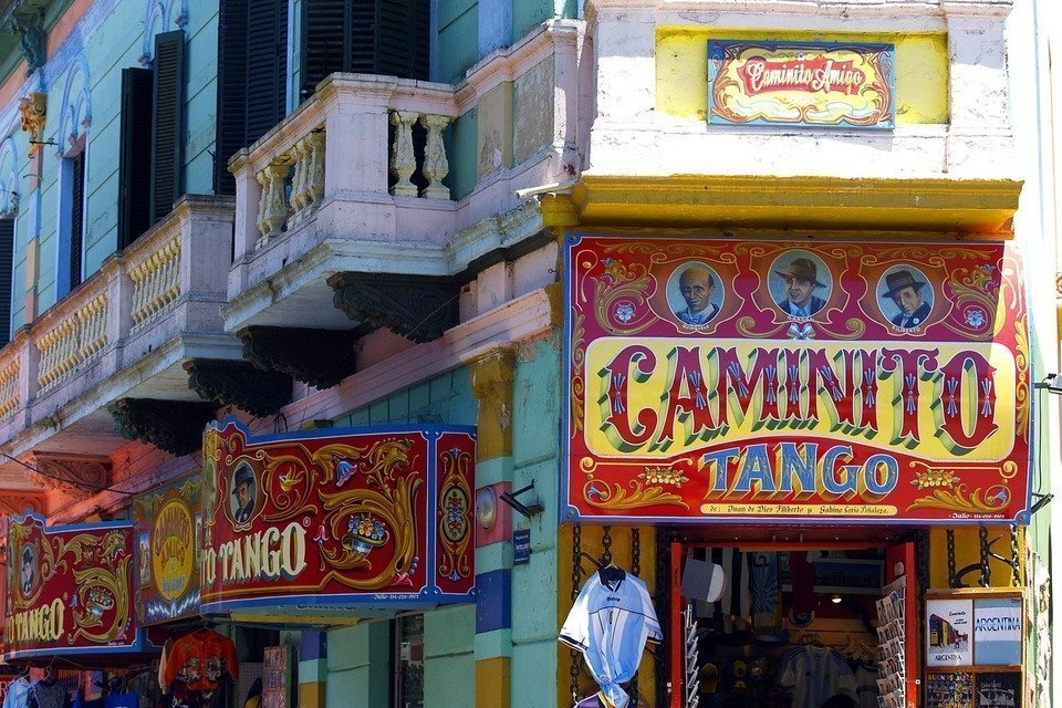 Caminito in Buenos Aires