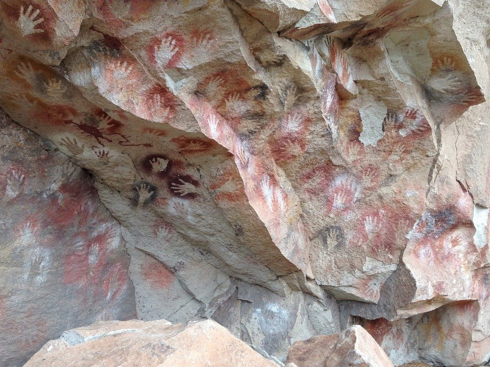 La Cueva de las Manos (Cave of Hands) in Argentina