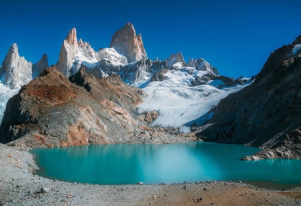 Mount Fitzroy in Los Glaciares National Park, Argentina