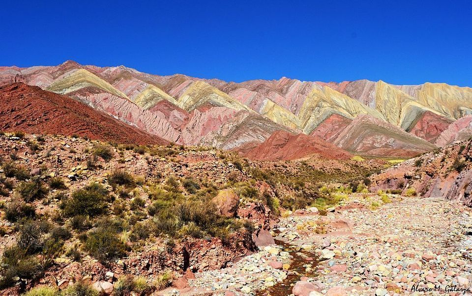 Hornocal Colorful Mountains in Quebrada de Humahuaca, Argentina