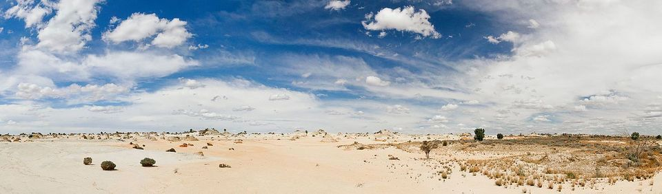 Lake Mungo in Australia
