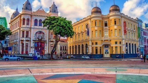 Old Town in Recife, Brazil