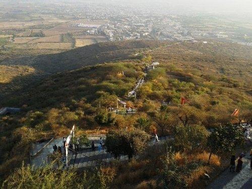 Satrunjaya Hill in India