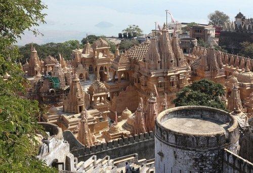 Palitana Temples in Shatrunjaya