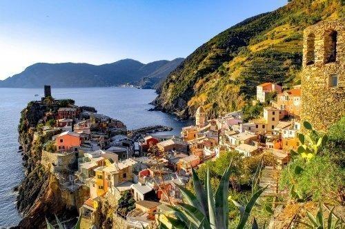 Vernazza town in Cinque Terre, Italy