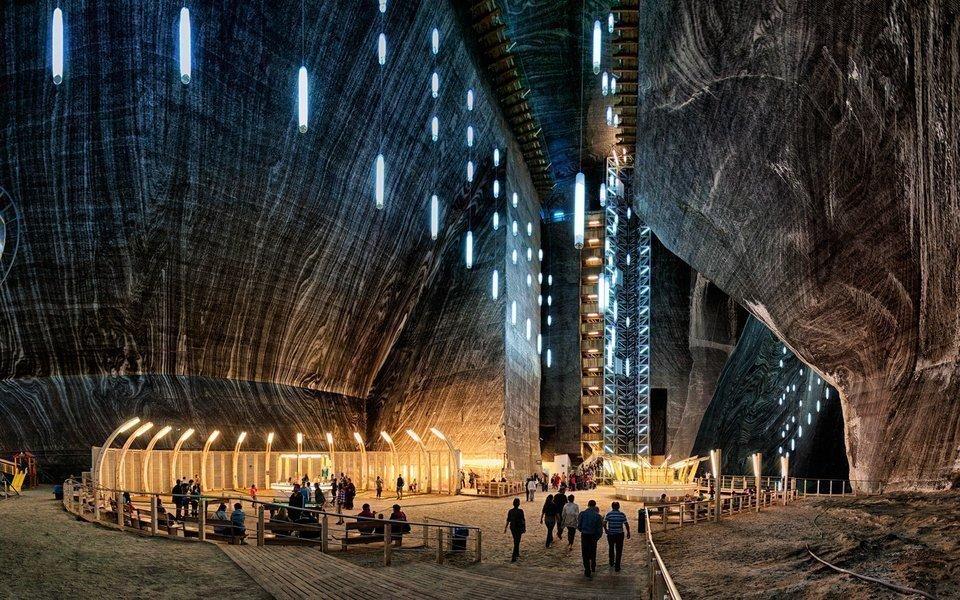 Salina Turda: Theme park inside the salt mine in Romania